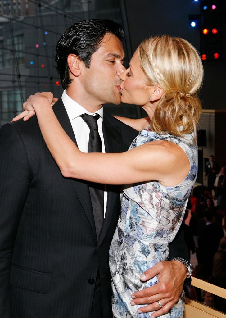 In April 2008 Mark And Kelly Kissed For The Cameras