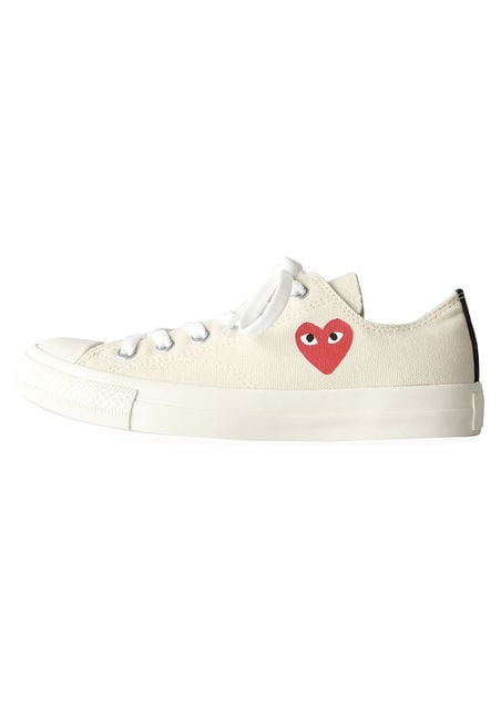 Comme des Garcons Play Cotton Canvas Sneaker ($105)
