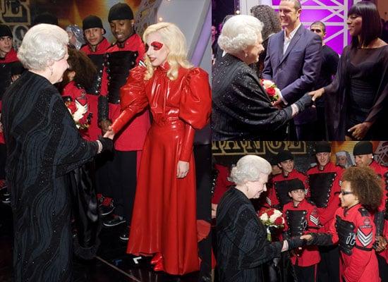 Photos of Royal Variety Performance