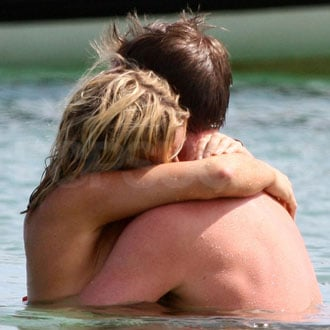 Guess Who Was Spotted in a Romantic Bikini Embrace?