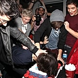 One Direction at the Elvis Duran Show in New York in 2012