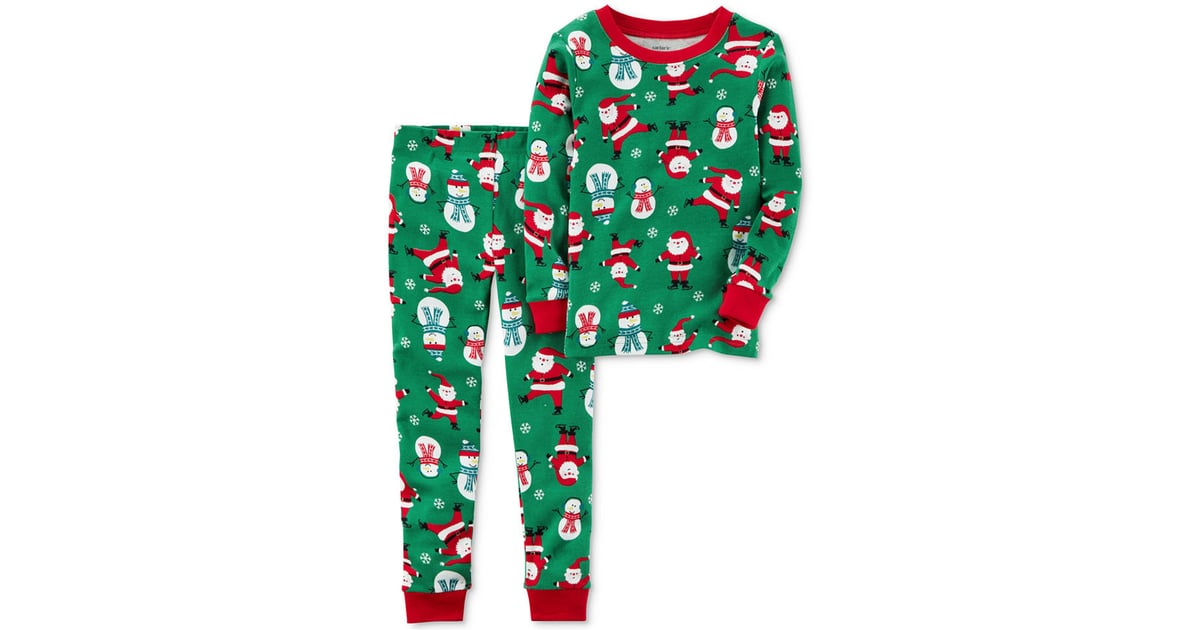 bbcac170551e Carter s 2-Pc. Santa-Print Cotton Pajama Set