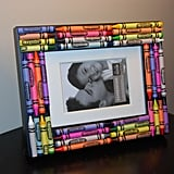 Crayon Picture Frame