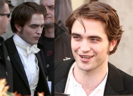 Photos of Robert Pattinson Filming Bel Ami in Budapest
