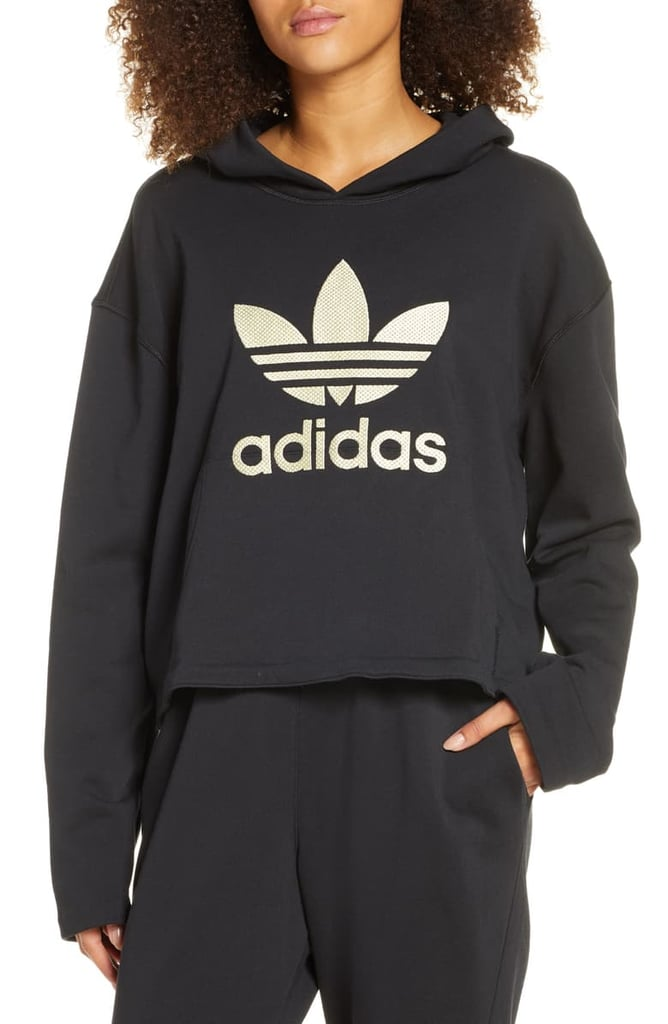 Womens Panel Hoodie By Adidas Khaki, Khaki from Topshop on 21 Buttons