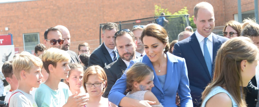 The Duchess of Cambridge Breaks Royal Protocol Because People Are More Important Than Rules