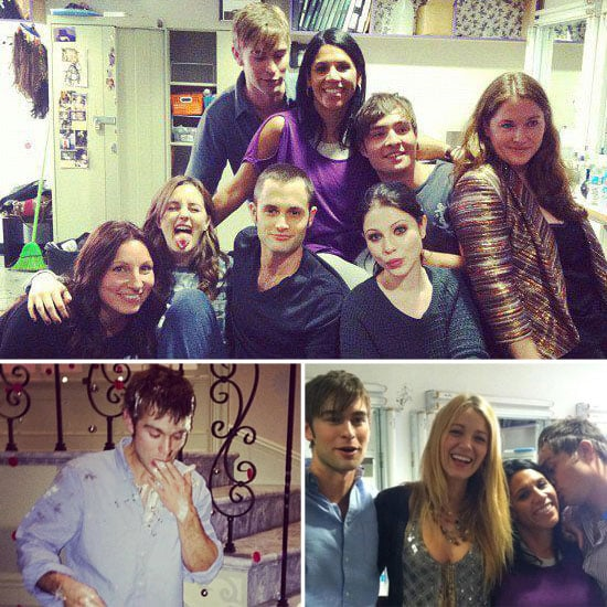 Blake, Chace, Penn, Leighton, and Ed Celebrate the End of Gossip Girl