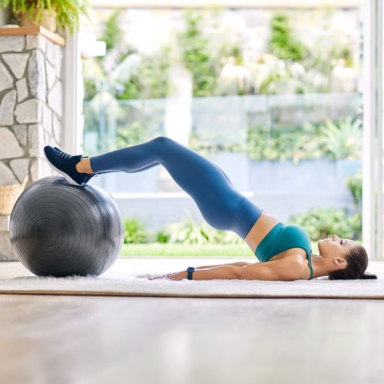 Free 15 Minute Fitball Blast Workout From Kelsey Wells PWR