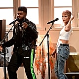 Pictured: Khalid and Halsey
