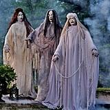 Life-Size Halloween Ladies