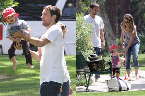 Photos of Tobey Maguire with Daughter Ruby Sweetheart and Wife Jennifer Meyer