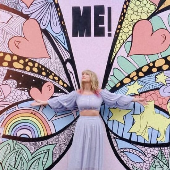 Taylor Swift Butterfly Wall Mural in Nashville 2019 Pictures