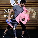 Maksim and Peta showed off their incredible dance moves at an event in NYC back in January 2016.