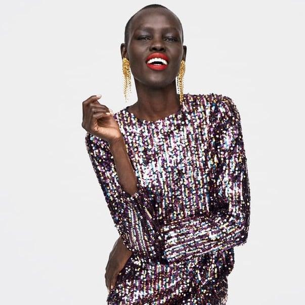 6121483e Best Sequin Party Dresses Zara | POPSUGAR Fashion Australia