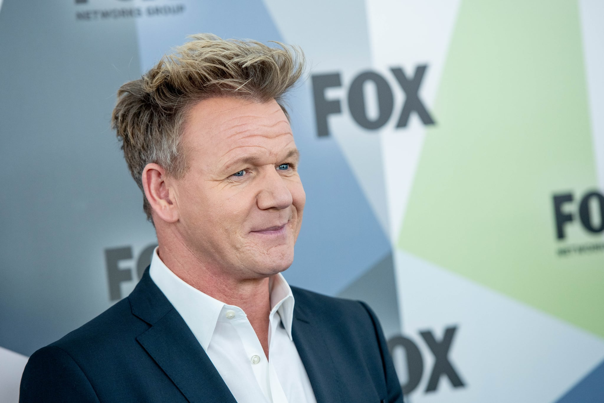 NEW YORK, NY - MAY 14:  Gordon Ramsay attends the 2018 Fox Network Upfront at Wollman Rink, Central Park on May 14, 2018 in New York City.  (Photo by Roy Rochlin/Getty Images)