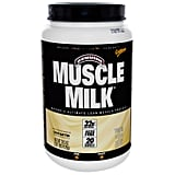 Muscle Milk Protein Powder in Cake Batter