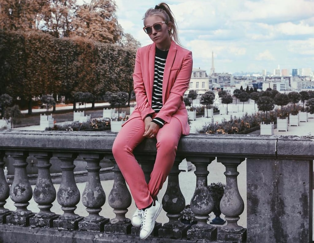Pink Suit Outfit Ideas