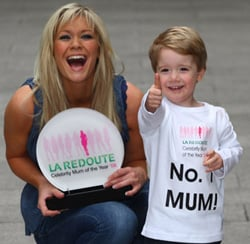 Suzanne Shaw Wins La Redoute Celebrity Mum Of The Year Contest