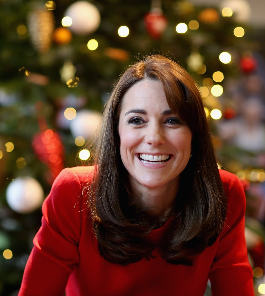 Kate Middleton at Anna Freud Centre Christmas Party 2015