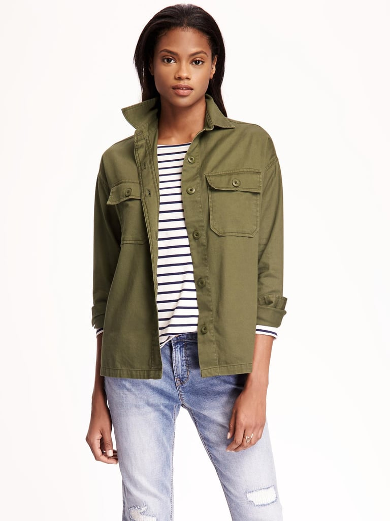 A Light Jacket For Transitional Weather