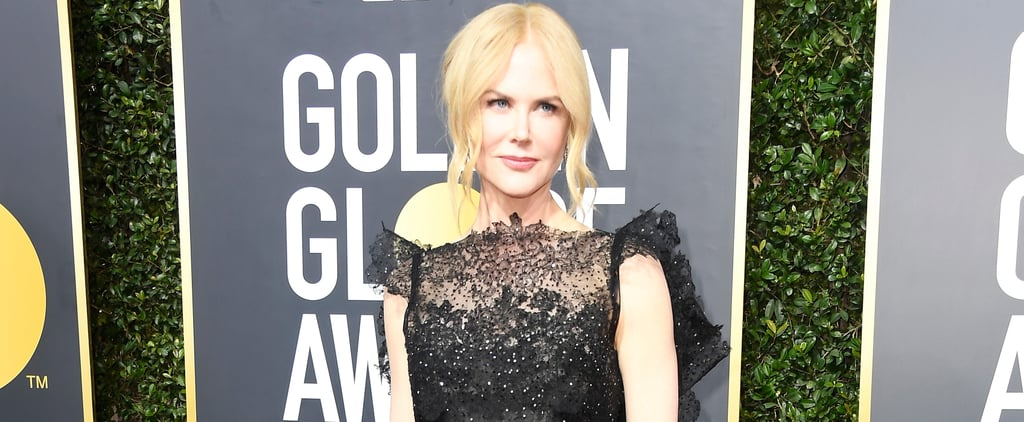 Take a Minute — or Longer — to Bow Down to Nicole Kidman's Jaw-Dropping Black Dress