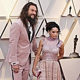 Jason Momoa and Lisa Bonet in Fendi at the 2019 Oscars