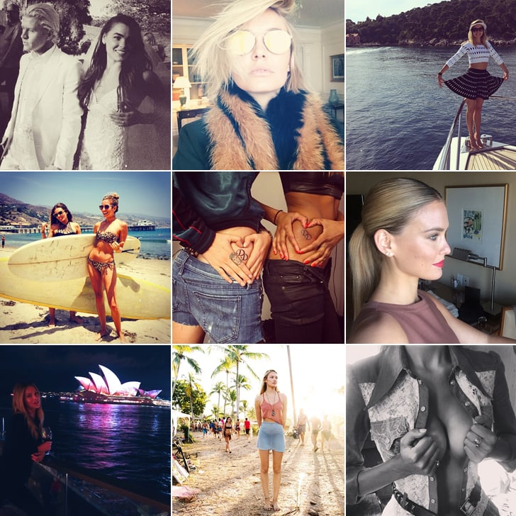 Celebrity Style Beauty Instagram Pictures Candice Swanepoel