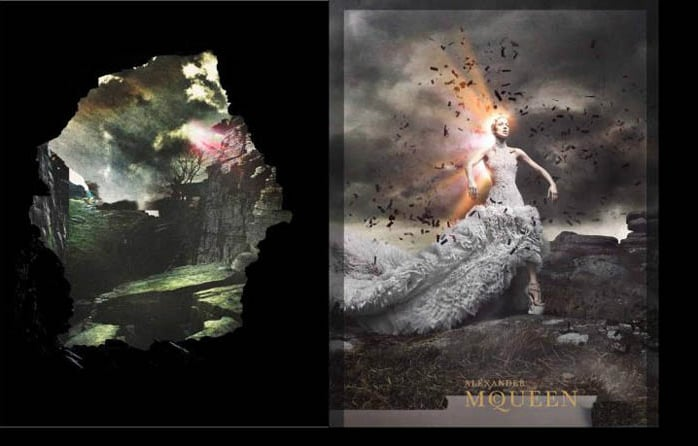 See the Full New Alexander McQueen Campaign Set; Plus — The McQueen Exhibit Sets a Record