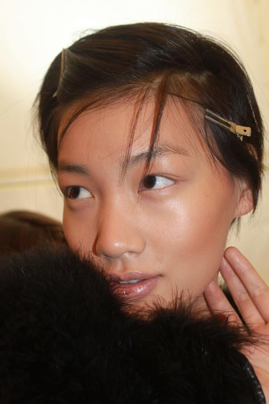 """I think using bronzer in the Winter is a good idea because it takes the redness out of windburn,"" Garland said. And when it comes to contouring, remember this: ""It's all about the brush. Use a contour brush and put your color underneath the cheekbone. Then you're going to buff it up and out."" You can also make it look less harsh by spreading the shade to the lids and temples."