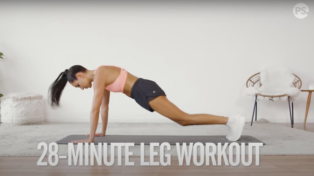 4-Week No-Equipment Workout Plan Weeks 2 and 4: Legs