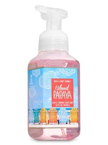 Bath & Body Works Island Papaya Gentle Foaming Hand Soap