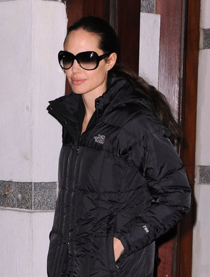 Sunglasses for Square Faces Like Angelina Jolie