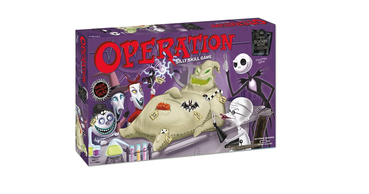 Christmas Operation Game.Nightmare Before Christmas Operation 15 Halloween Party