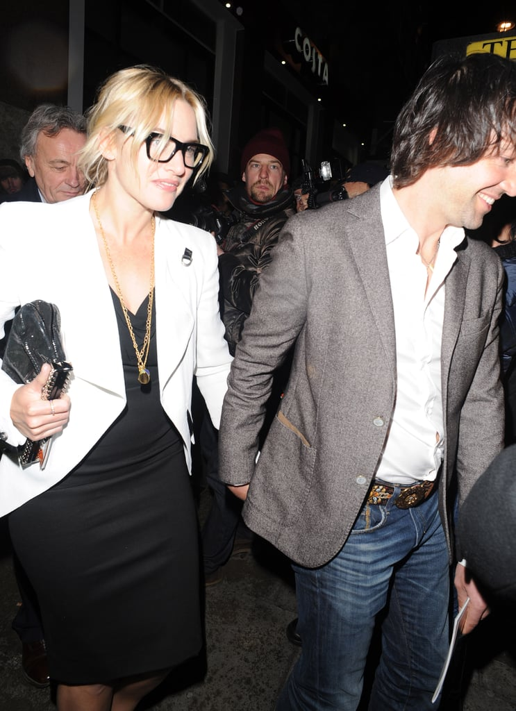 Kate Winslet and Ned Rocknroll left the theater together.