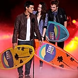 Taylor Lautner, Kristen Stewart, and Robert Pattinson
