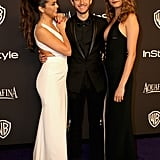 Selena only had eyes for Zedd when the duo linked up with pal Cara Delevingne at the InStyle and Warner Bros. Golden Globes bash in January.