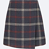 Uniqlo Wool-Blend Wrap Miniskirt