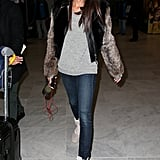 At the airport in Paris on March 1.