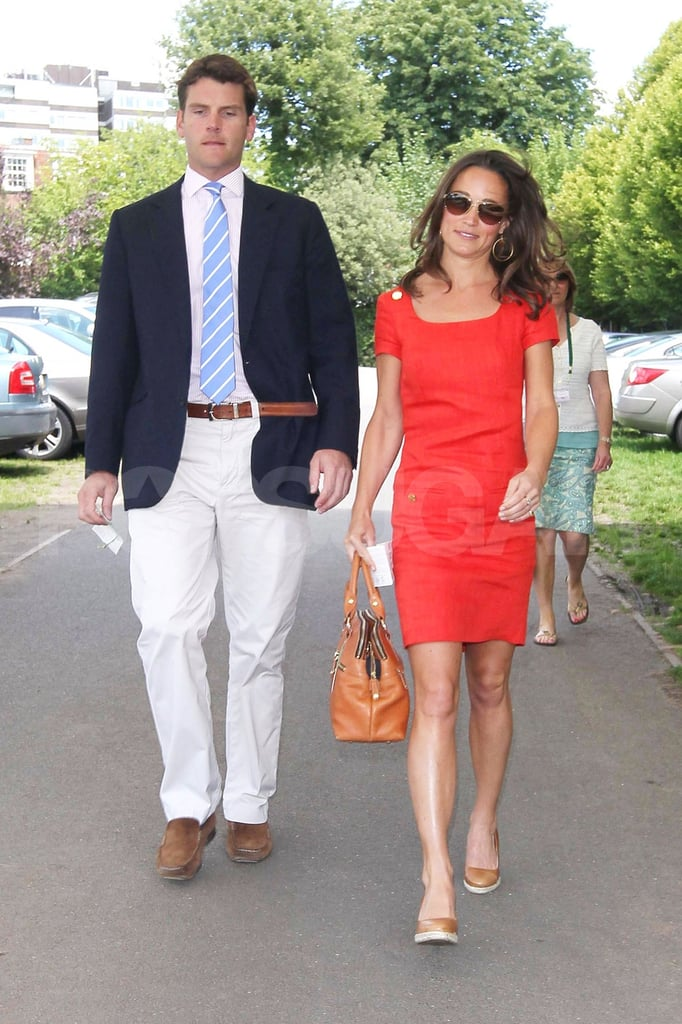 Pippa Middleton and Alex Loudon go to Wimbledon.