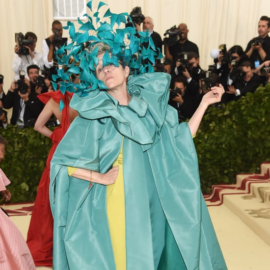 Frances McDormand at the 2018 Met Gala