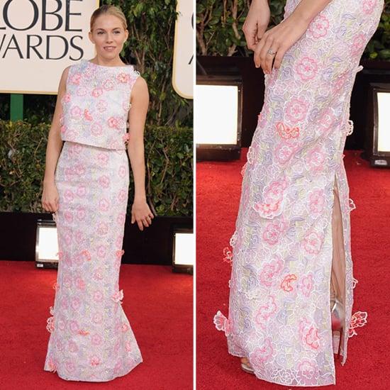 Sienna Miller | Golden Globes Red Carpet Fashion 2013