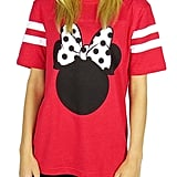 Disney Minnie Mouse Varsity Football Tee