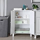 SONGMICS Bathroom Floor Storage Cabinet With Double Door