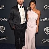 Nicole Scherzinger and Thom Evans at 2020 Golden Globes In Los Angeles
