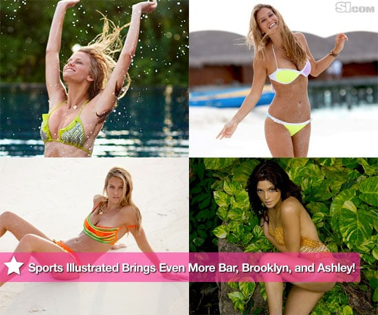 Photos of Ashley Greene, Bar Refaeli, and Brooklyn Decker in Bikinis For the 2010 Sports Illustrated Swimsuit Edition