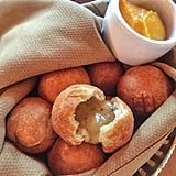 Signature fried biscuits at Carthay Circle Restaurant