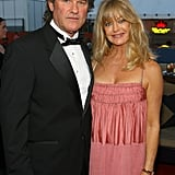 Kurt Russell and Goldie Hawn attended a party on a yacht in 2007.