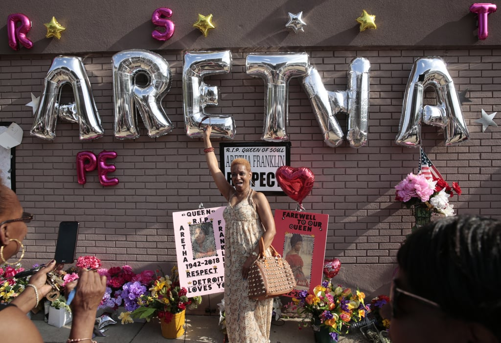 Aretha Franklin Tribute in Detroit August 2018