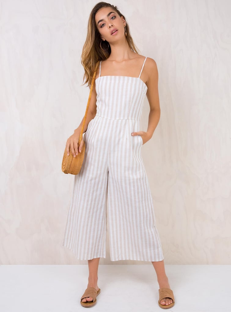 Princess Polly Road to Panama Tie Back Jumpsuit ($69)    Discount: Enter FRENZY25 at the checkout for 25% off.