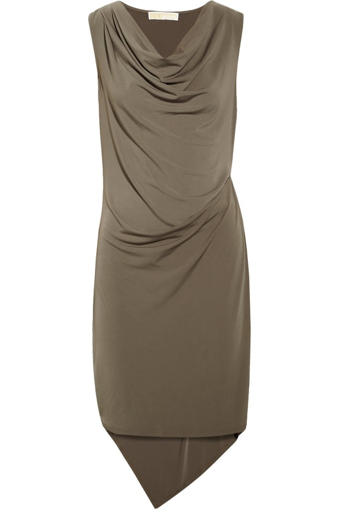 Dress this Michael Michael Kors draped jersey dress ($60, originally $100) up with statement heels and gold jewels to wear to your next festive get together.